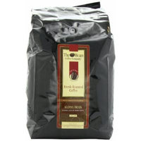 The Bean Coffee Company, Aloha Bean (Hawaiian Hazelnut) Ground Coffee, 5-Pound Bags