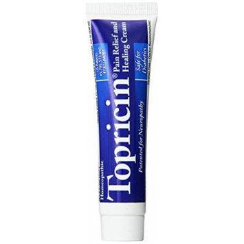 Topricin Pain Cream, 0.75 Ounce