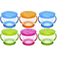 Munchkin Snack Catcher Food Dispensers (Colors May Vary) Age 12+ Months ~ 6 Pack