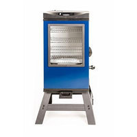 Masterbuilt 20076816 4-Rack Digital Electric Smoker with Leg Kit Cover and Gloves, 30