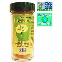 Brain Health Food -- Ayur Vedic Indian Seasoning - 27 Organic Spices & Herbs - Betty's Braingain Miracle Spice - Give Your Food a Rich NEW Flavor Profile! - Contains ALL the SIX Tastes! It's Satisfaction Galore! Spice up Your Brain! Your Brain & Body &...