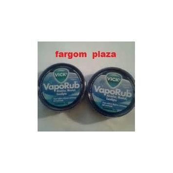 (2) Vicks Vaporub Topical Ointment 12g Tin Travel Size