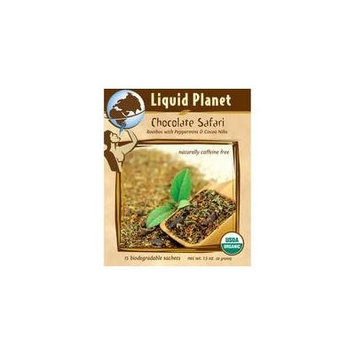 Liquid Planet Organic Tea Chocolate Safari 15ct Individually Wrapped