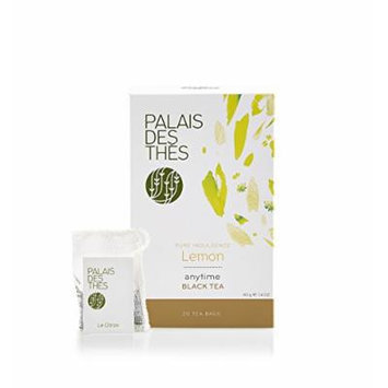Palais des Thés Pure Indulgence Lemon Black Tea, 20 Tea Bags (40g/1.4oz)