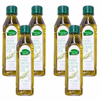 Palermo First Cold Pressed Extra Virgin Olive Oil All Natural Kosher 8.5fl Oz (6 Pack)