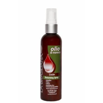 La-Brasiliana Olio Di Morocco Lucia Ultra Light Spray Shine - 4.23oz