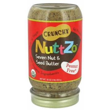 NuttZo - Organic Omega-3 Seven Nut & Seed Butter No Peanuts - 16 oz