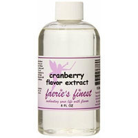 Faeries Finest Flavor Extract, Cranberry, 8 Ounce
