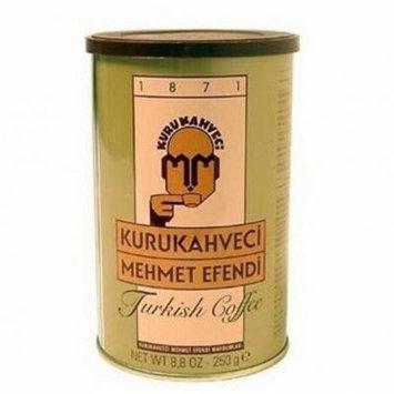 Turkish Ground & Roasted Coffee (Kurukahveci Mehmet Efendi Cekilmiş ve Kavrulmus Turk Kahvesi) - 1.1lb