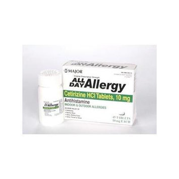 All Day Allergy 10mg/45Tab - COMPARE TO ZYRTEC