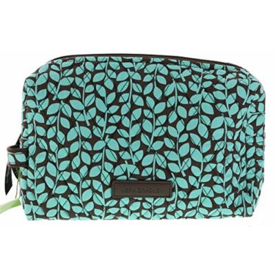 Vera Bradley Large Cosmetic Bag in Shower Vines