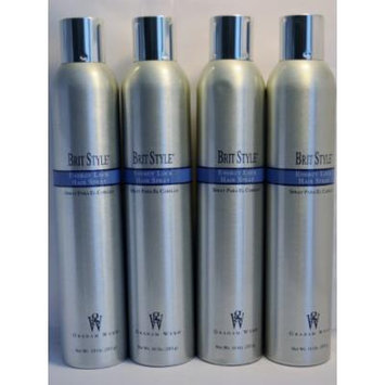 GRAHAM WEBB by Graham Webb BRIT STYLE ENERGY LOCK HAIR SPRAY 10 OZ - 4 Bottles