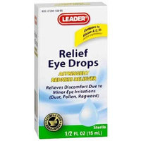 Leader Relief Eye Drops 0.5 OZ (PACK OF 2)