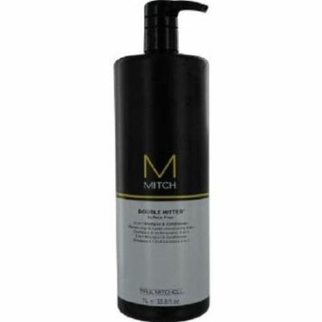 Paul Mitchell Men Mitch Double Hitter Sulfate Free 2-in-1 Shampoo and Conditioner, 33.8 Ounce