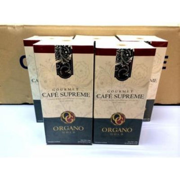 7 Boxes Organo Gold Gourmet Cafe Supreme with Ginseng Ganoderma Lucidum Extract + Free 7 Sachets Gano Excel Tongkat Ali Coffee
