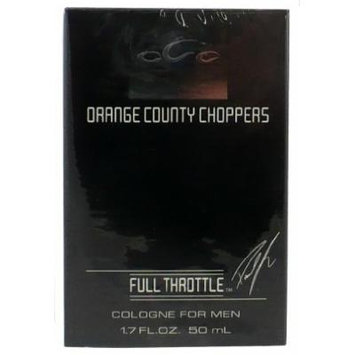 Orange County Choppers Full Throttle EDT Spray Cologne 1.7 Oz