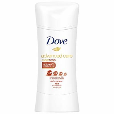 Dove Advanced Care Antiperspirant Deodorant, Clear Tone Skin Renew 2.6 oz