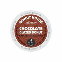 Donut House Collection Coffee, Chocolate Glazed Donut, K-Cup Portion Pack for Keurig K-Cup Brewers (Pack of 48)