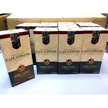 30 Boxes Organo Gold Gourmet Cafe Supreme with Ginseng Ganoderma Lucidum Extract + Free 30 Sachets Gano Excel Tongkat Ali Coffee