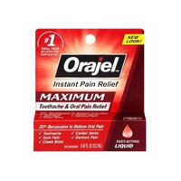 Orajel Maximum Strength, Liquid 0.45 fl oz