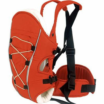 Beddinginn® Upgrade Three Carry Ways Padded Child Carrier Windproof Red Baby Carriers