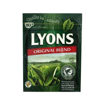 Lyons Pyramid Tea, 80-Count Package (Pack of 3) (Original Blend)