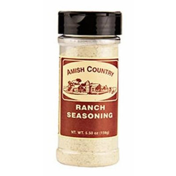 Amish Country Popcorn Ranch Seasoning 5.5oz (Two Pack)