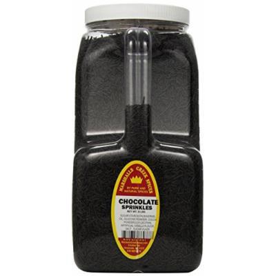 Marshalls Creek Spices Sprinkles, Chocolate, XX-Large, 9 Pound