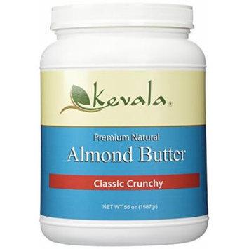 Kevala Almond Butter Crunchy 3.5 Lbs