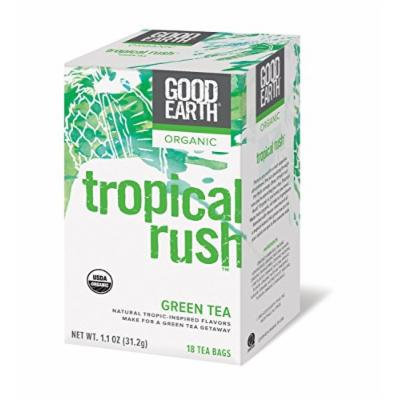 Good Earth Organic Tropical Rush Green Tea - 3 Pack