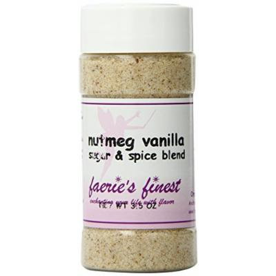 Faeries Finest Sugar and Spice Blend, Nutmeg Vanilla, 3.50 Ounce