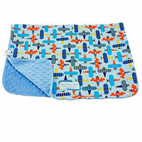 Blue Baby Bum Blanket Planes