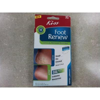 Kiss Foot Renew Natually Removes Dead Skin