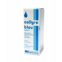 Original Laiter Collyre Bleu Eye Drops 10 Ml - French