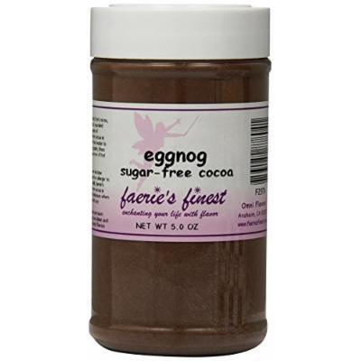 Faeries Finest Sugar-Free Cocoa, Eggnog, 5 Ounce