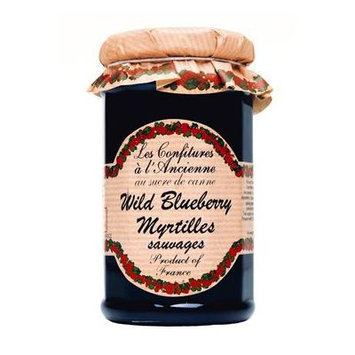 Blueberry Jam Andresy All natural French jam pure sugar cane 9 oz jar Confitures a l'Ancienne, One