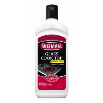 Weiman Polish Cleaner & Polish, Glass Cook Top, Heavy Duty 10 Oz (Pack of 2)