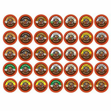 Crazy Cups Premium Hot Chocolate Sampler K-cup Brewers, 35 Count
