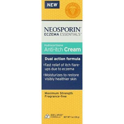 Neosporin Essentials Eczema Hydrocortisone Anti-Itch Cream, 1 Ounce