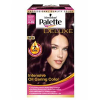 Schwarzkopf Palette Deluxe 4-89 Brown Violet Long Lasting Intensive Oil Caring Color