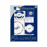 Los Angeles Dodgers Baby Gift Set: Starting Lineup 3-Piece Baby Feeding Set