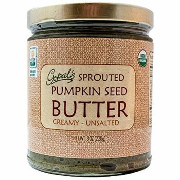 Gopal's Raw Organic Sprouted Pumpkin Seed Butter 8oz