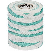 Andover Powerflex 3730 Cohesive Medicinal Tape, 3-Inch/6-Yard, Green/White