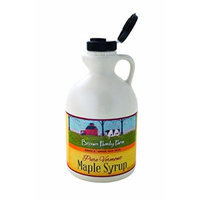 Brown Family Farm Maple Syrup, Pure Vermont Grade A, Amber Color, Rich Taste, 32 Ounce