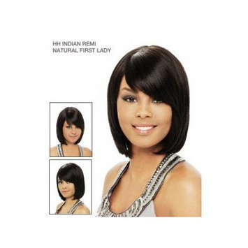 It's a Wig 100% Indian Remi Human Hair Natural First Lady Color 1b