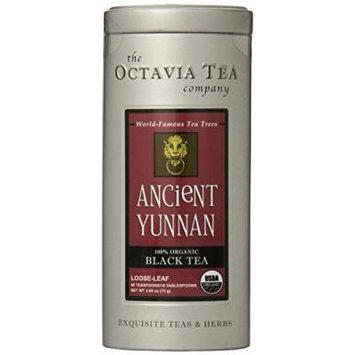 Octavia Tea Ancient Yunnan (Organic Black Tea), 1.98-Ounce Tin