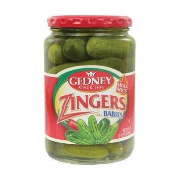 Gedney Zingers Babie Pickles 24 Oz
