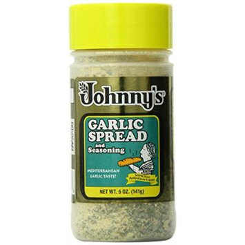 Johnny's Garlic Spread and Seasoning, 5 Ounce (Pack of 6)