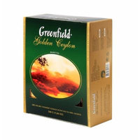 Greenfield Tea, Golden Ceylon, 100 Count