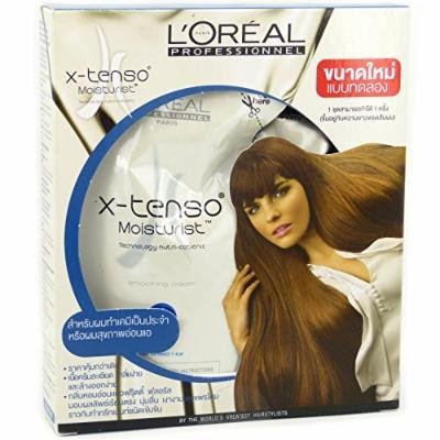 L'Oreal x-tenso xtenso Mild Hair Straightener Set for Sensitive Sensitized Hair